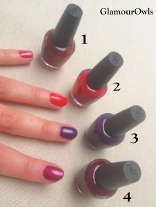 Mini vernis OPI Holiday Stars (2)